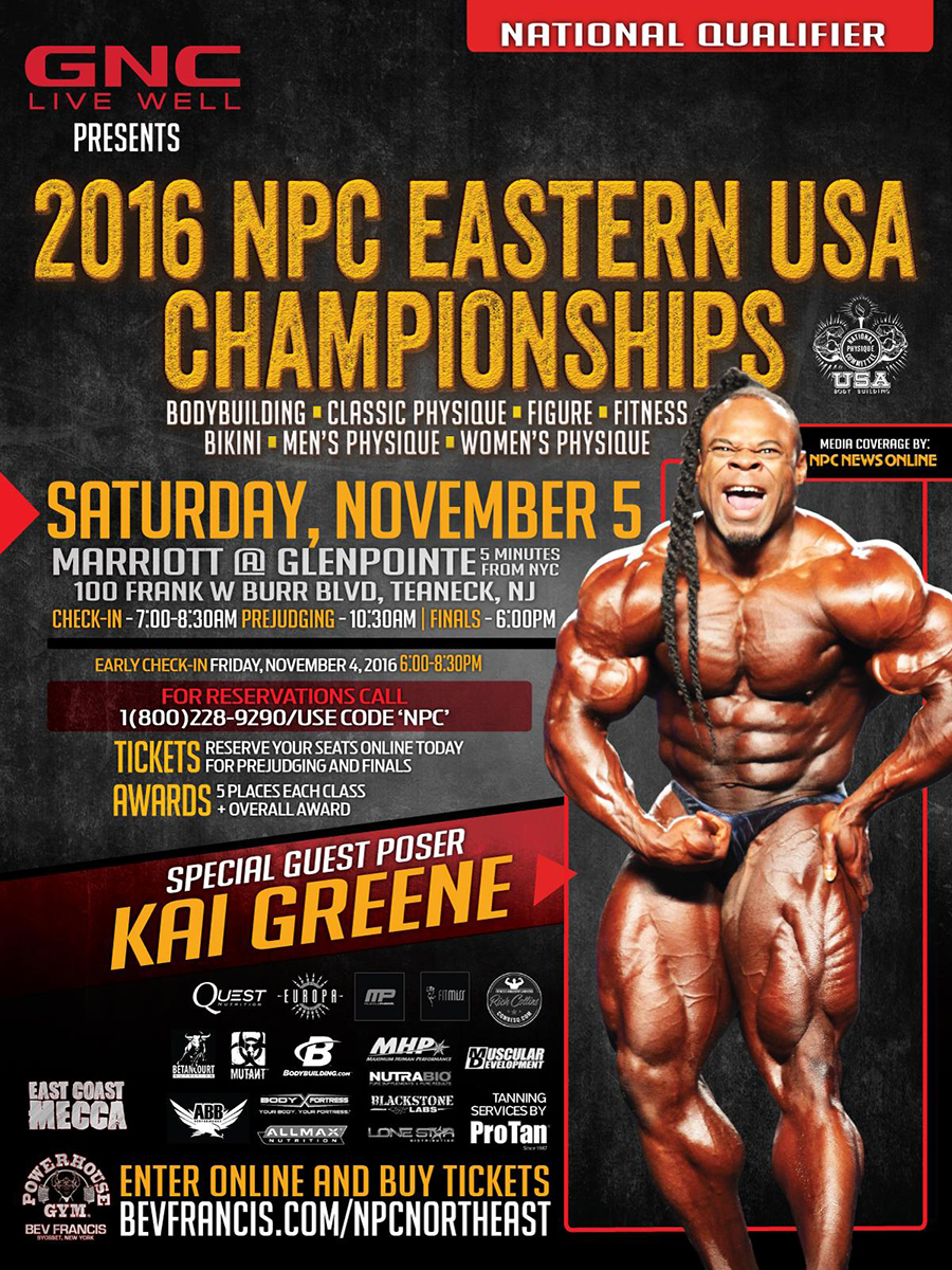 NPC Eastern USA Championships