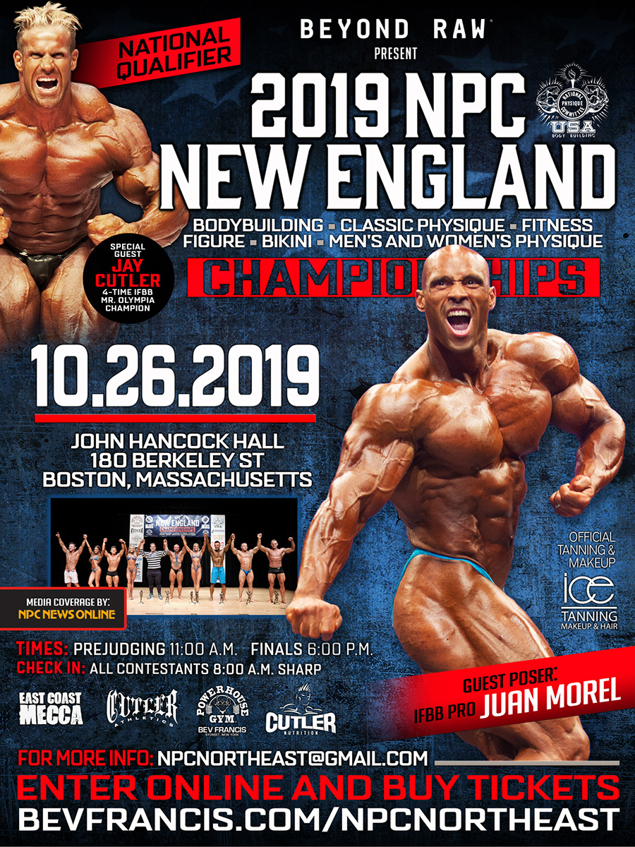 NPC Northeast - NPC amateur contests in New York, New Jersey
